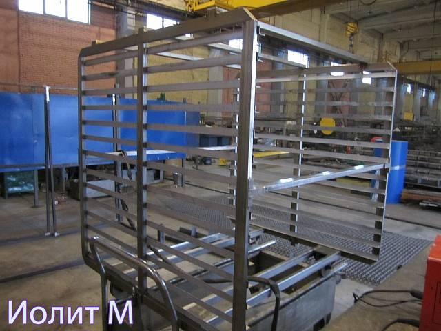 Производство оборудования из нержавейки на производстве