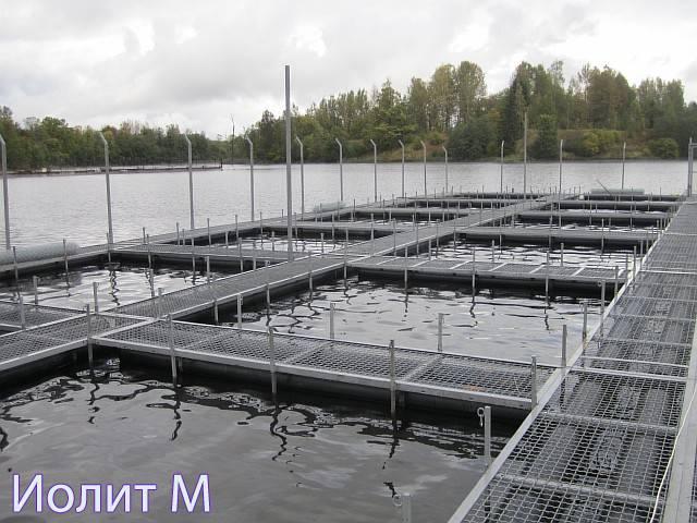 Конструкция для разведения рыбы