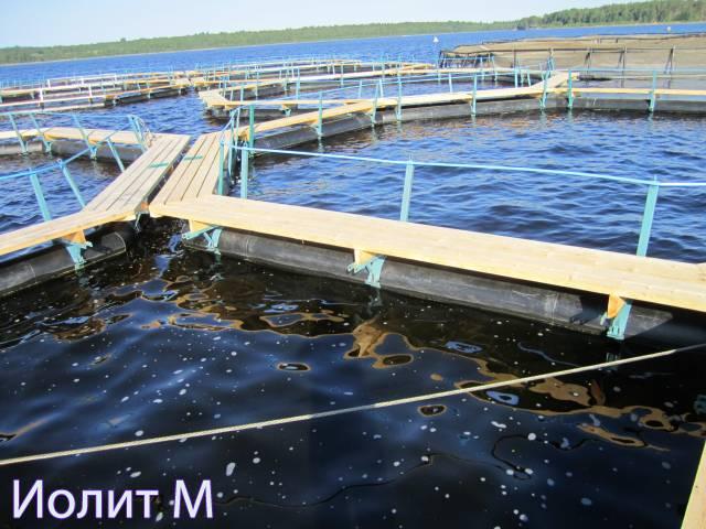 Новые садки для рыб