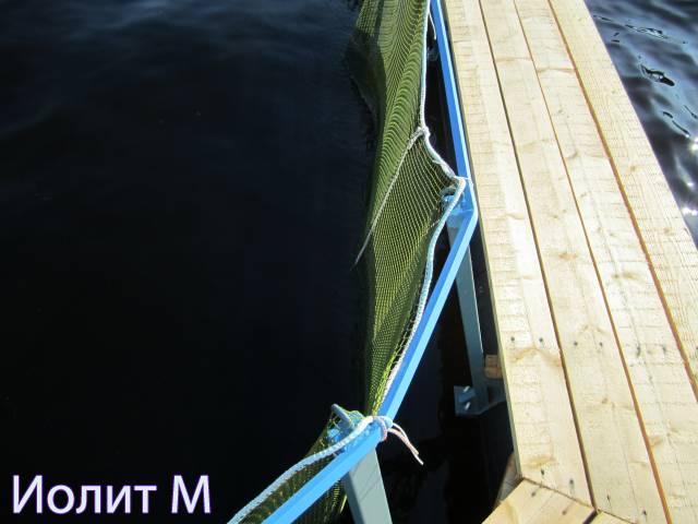 Выращивания рыбы в садках