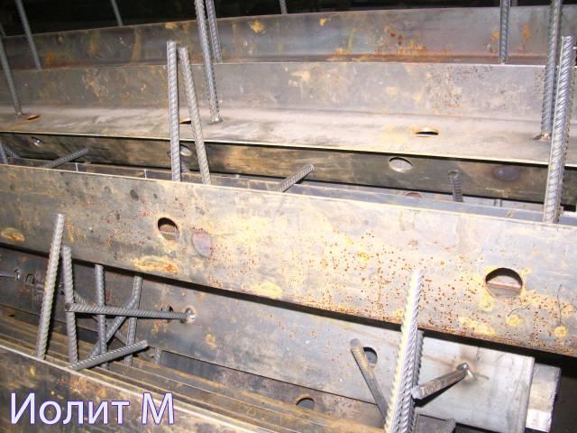 Несъемная металлическая опалубка