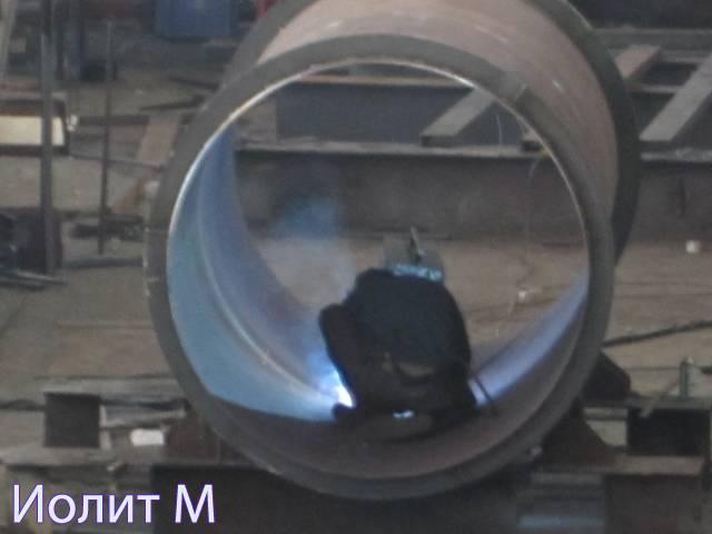 Монтаж дымовых труб