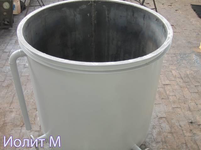 Резервуар вертикальный двустенный
