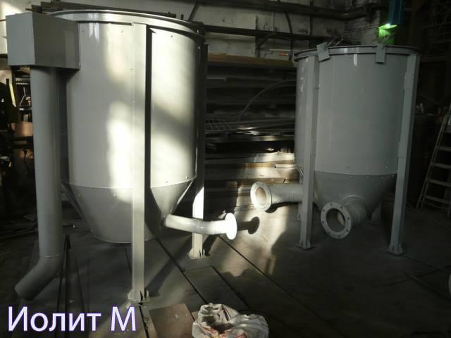 Производство вертикальных резервуаров