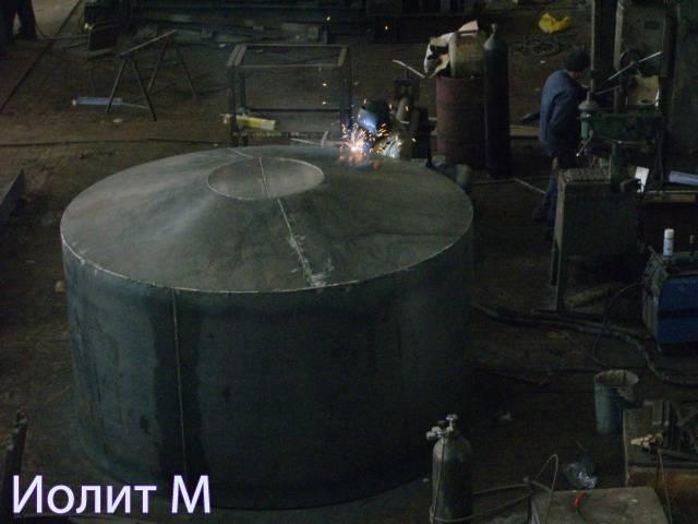 Резервуар стальной вертикальный