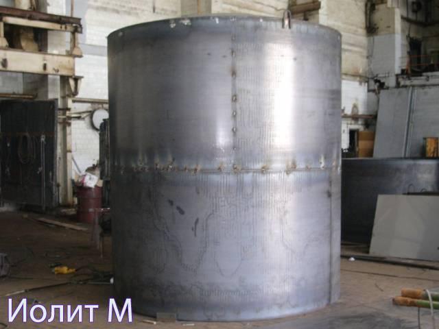 Емкость цилиндрическая вертикальная
