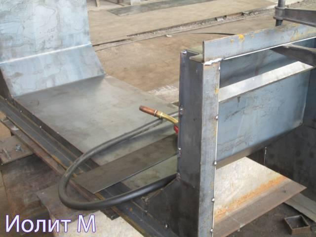 Полиуретановые формы для бетона