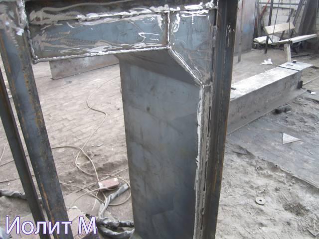 Декоративный бетон формы