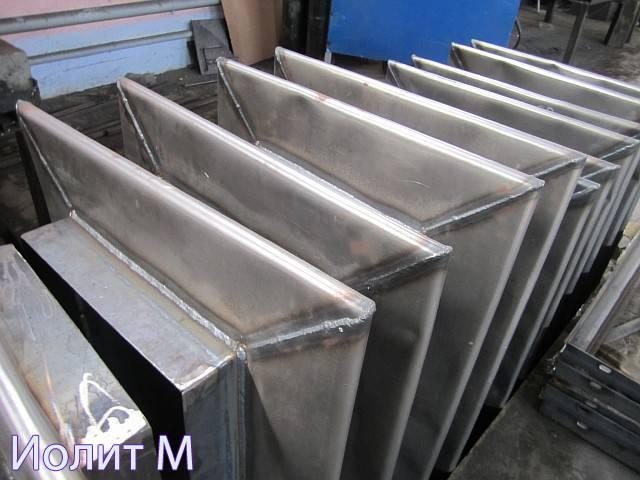 Производство линзовых компенсаторов на заводе ИолитМ