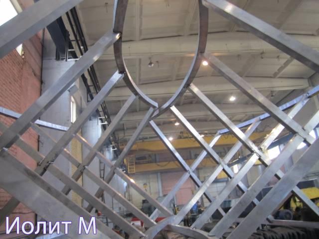 Производство металлоконструкций для быстровозводимых зданий
