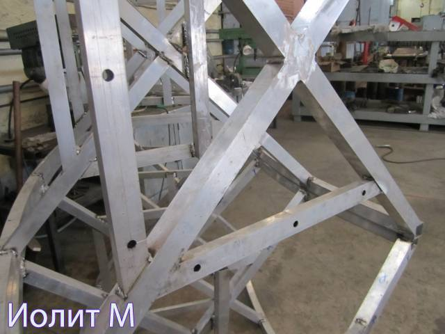 Защита металлоконструкций от коррозии