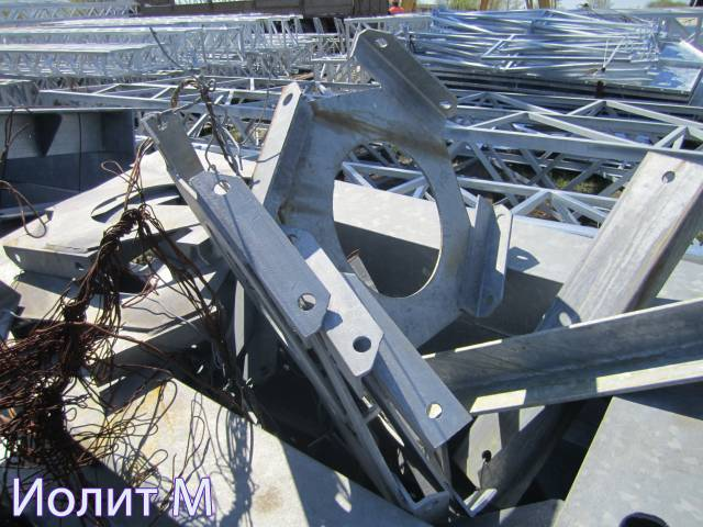Производство металлоконструкций. Пружинные опоры