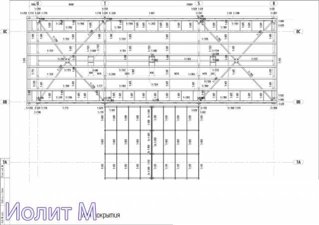 Строительные металлоконструкции. Чертежи