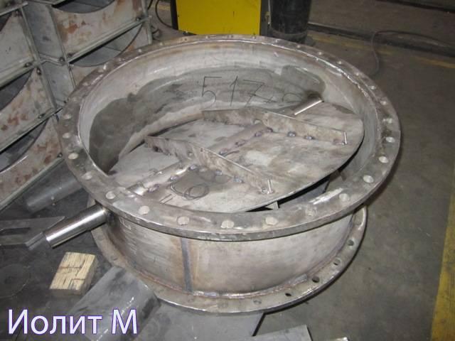 Производство клапанов ПГВУ