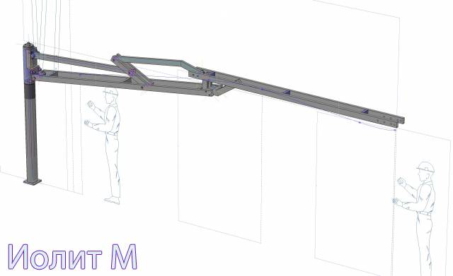 Схема нестандартных металлоконструкций