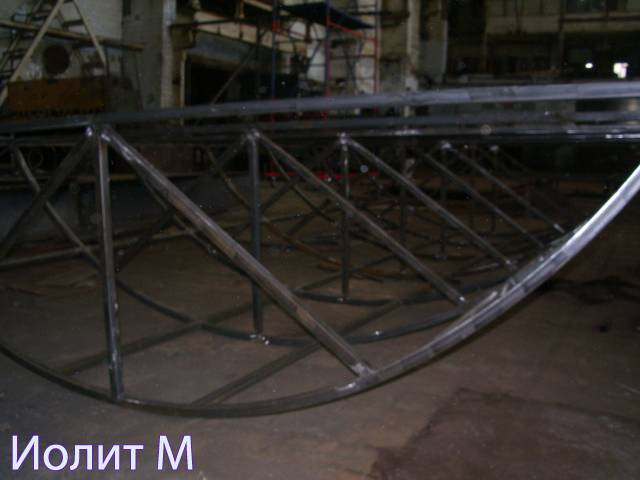 Использование нестандартных металлоконструкций