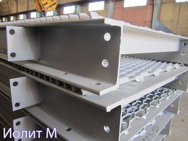 Металлические площадки на производстве