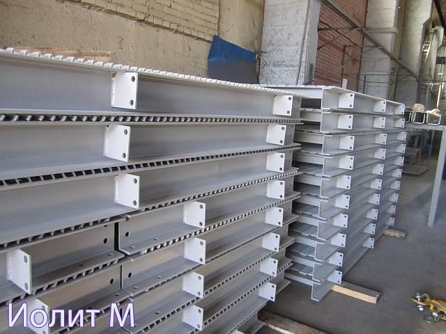 Защитное покрытие для металлических площадок