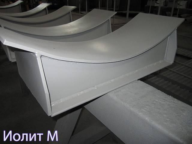Металлические опоры под трубопровод