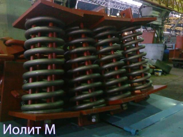 Пружины трубопроводов