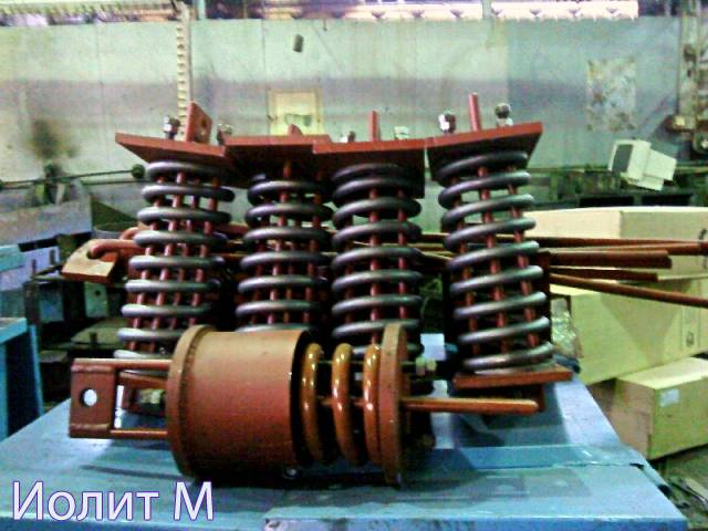 Пружинные опоры трубопроводов