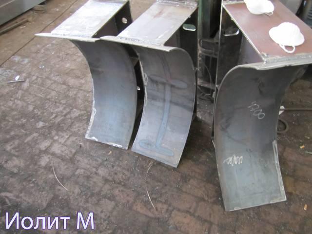 Катковые опоры трубопроводов