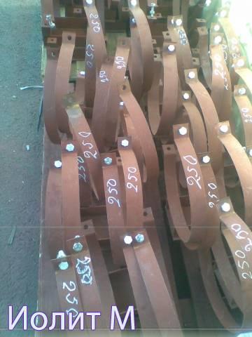 Применение подвижных опор трубопроводов