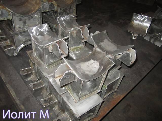 Производство опор из стали