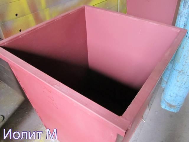 Выпуск контейнеров для мусора