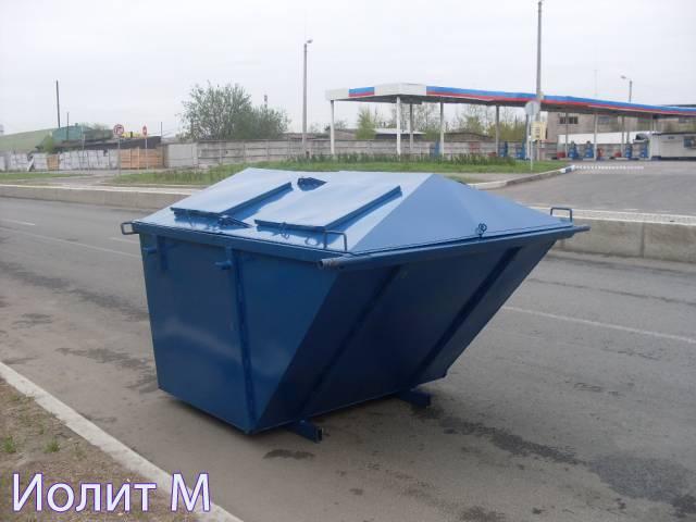 Цена на контейнеры для ТБО