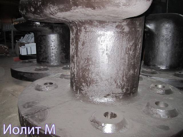 Конструкция швартовочной тумбы