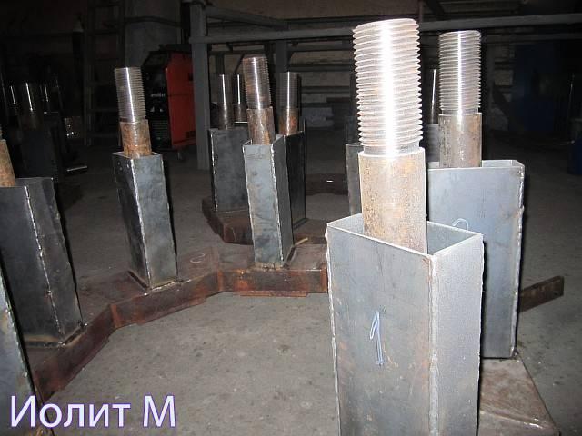 Оборудование для швартовочных тумб