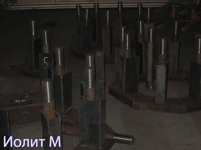 Металлоизделия для швартовочных тумб