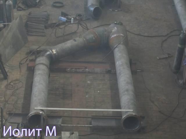 Блоки для скользящих трубопроводов