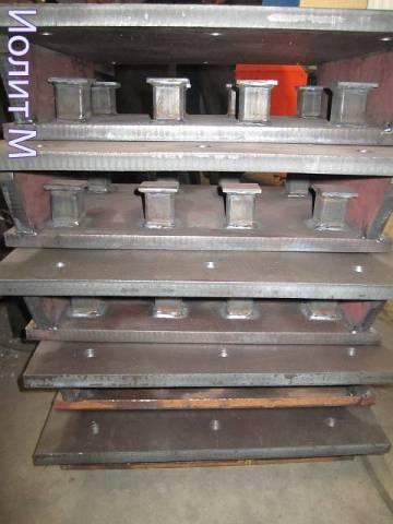 Оборудование для резки металла. Проектирование закладных деталей