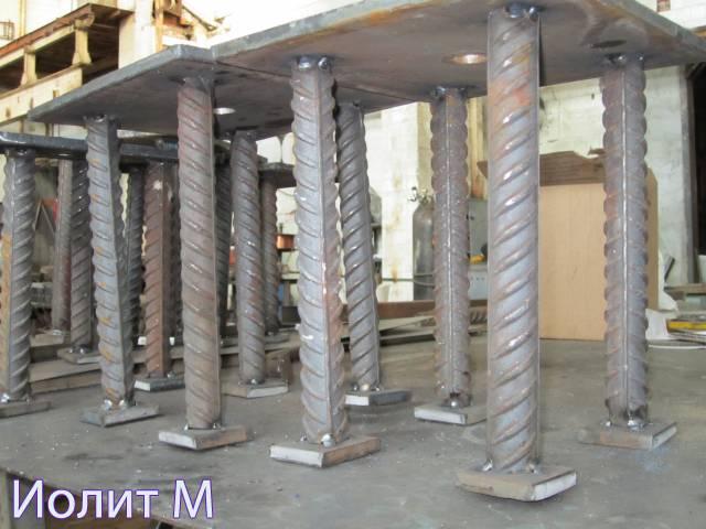 Металлизация закладных изделий