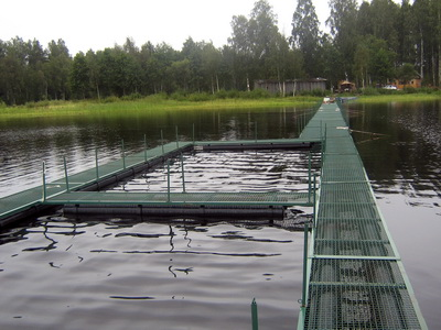 Садок для рыбы: какие рыболовные садки лучше, металлический