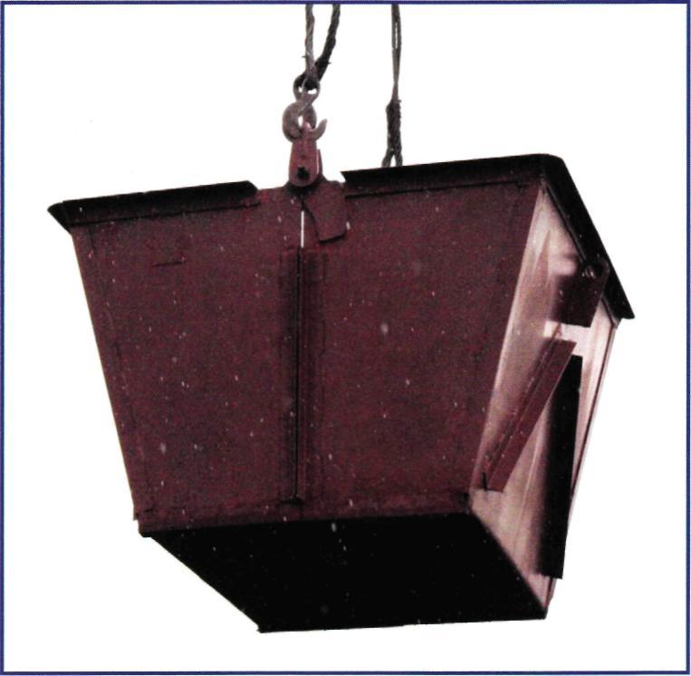 Бункер для мусора (двухчелюстной)