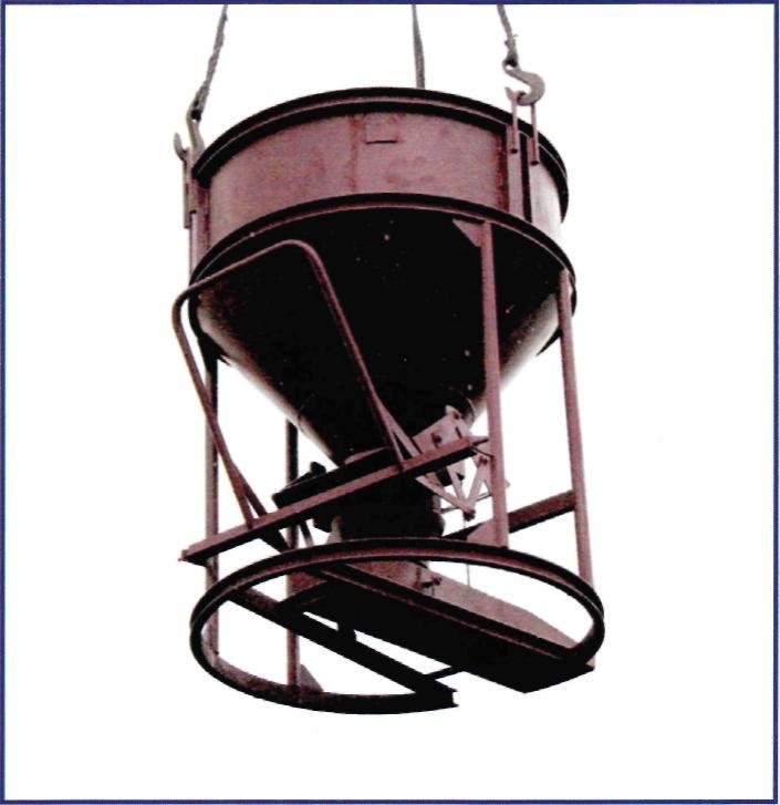 Бункер для подачи бетона (вертикальный) «Рюмка»