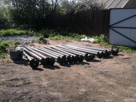 Винтовые сваи в строительстве